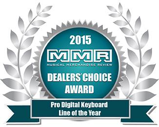 2015 Musical Merchandise Review Dealers' Choice Awards winner