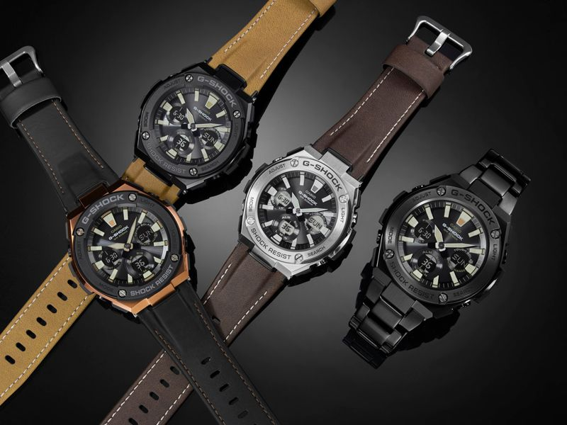 Leather G-STEEL Collection