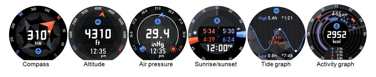 WSD-F20 Smart Outdoor Watch Tool App