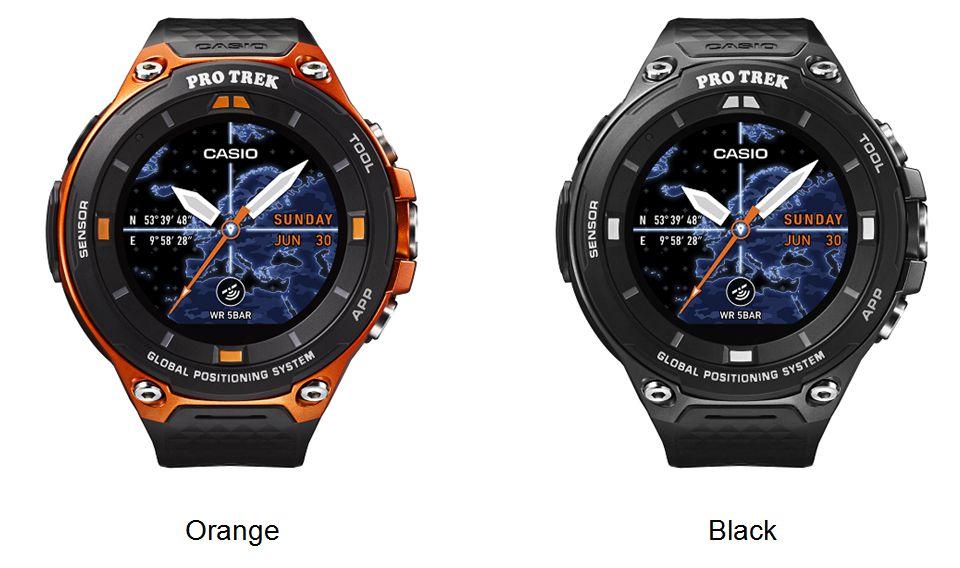 WSD-F20 Smart Outdoor Watch Colors
