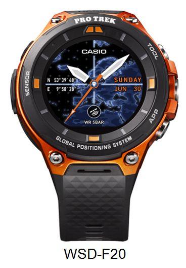 WSD-F20 Smart Outdoor Watch