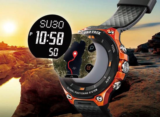 WSD-F20 Smart Outdoor Watch Dual-Layer LCD