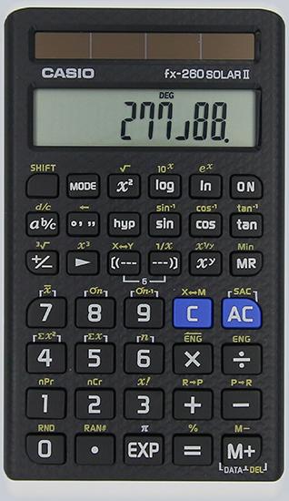 FX-260SOLARII in black