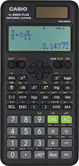 FX-300ESPLUS2 in black