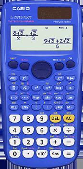 FX-300ESPLUSBU in blue