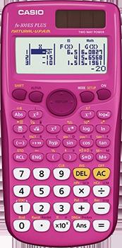 FX-300ESPLUSPK in pink