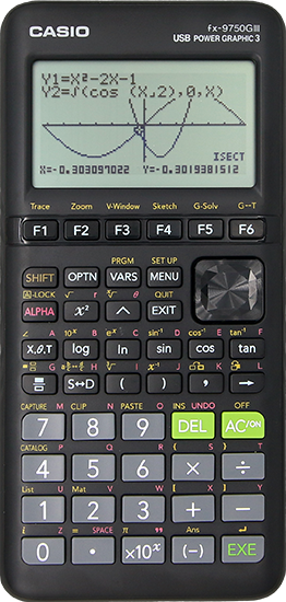 FX-9750GIII in Black