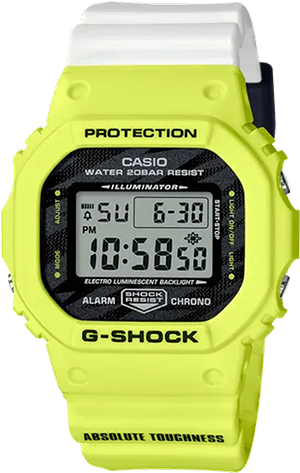 DW5600TGA-9 in Yellow
