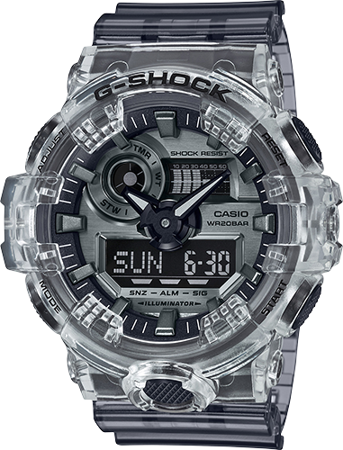 GA700SK-1A in Gray/Black/Clear