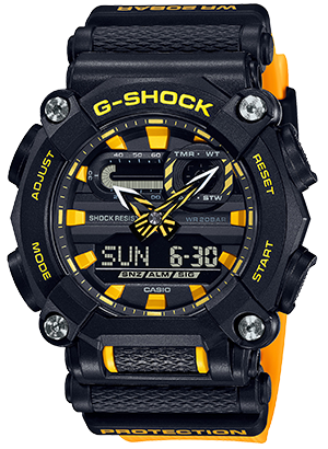 GA900A-1A9 in Yellow/Black