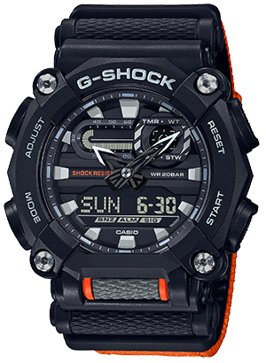 GA900C-1A4 in Orange/Black
