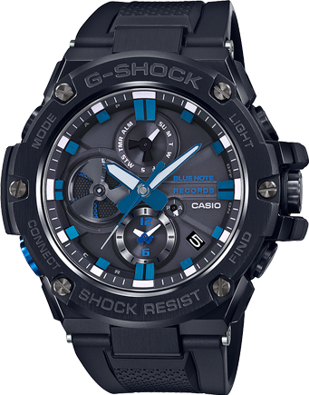 GSTB100BNR-1A in Black/Blue