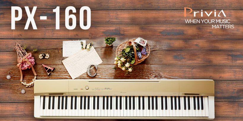 Privia. Quand votre musique est importante. PX-160