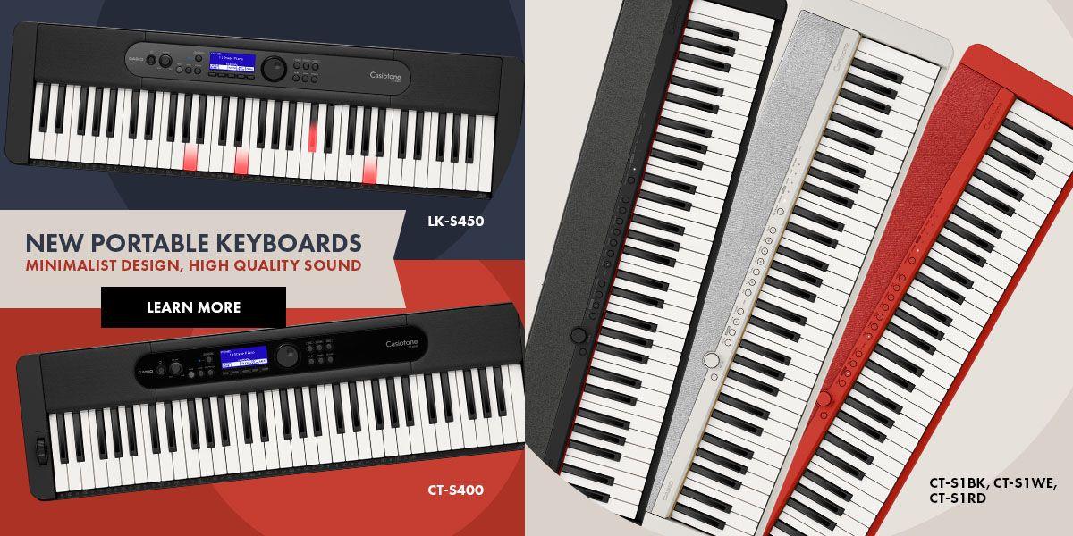 NEW Portable Keyboards - Minimalist Design, High Quality Sound