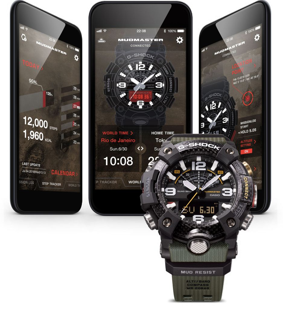 Mobile App for watch model GGB100-1A9
