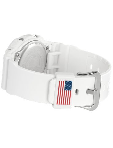 DW5600NASA20 band with US flag