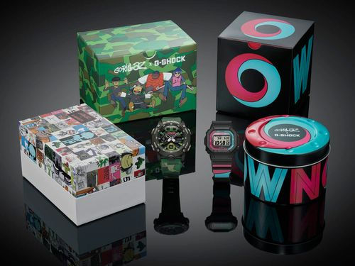 Casio G-Shock Partners With Gorillaz For Their Second Collaboration