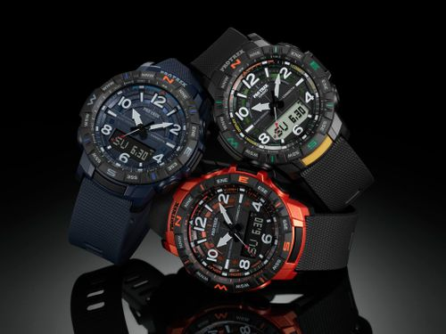 CASIO TO RELEASE PRO TREK WITH QUAD SENSOR AND SMARTPHONE LINK FUNCTIONS