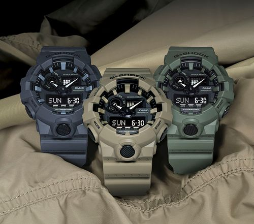G-Shock Unveils New Utility Color Collection
