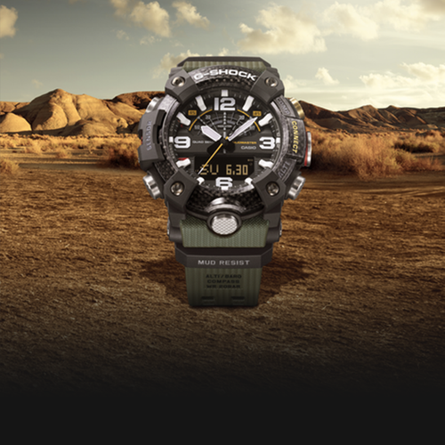 ALL-NEW LINE UP OF MEN'S MASTER OF G MUDMASTER TIMEPIECES