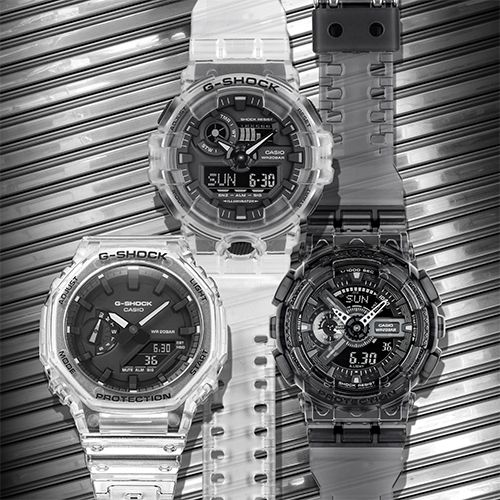 G-SHOCK Unveils New Series of Semi-Transparent Timepieces